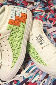 Periodic Table Of Elements Shoes Periodic Table Shoes