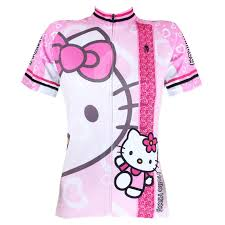 Paladin Cycling Jersey Size Chart Hello Kitty Women Short Sleeve Cycling Jersey Bike Outlet Ciclo Jersey Plus Size Maillot Geniune Paladin Retro Cycling Jerseys Online Shirts From