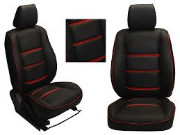 picture of 3d custom pu leather car seat covers for honda brio ht