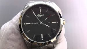 men s lacoste montreal steel watch 2010612 men s lacoste montreal steel watch 2010612
