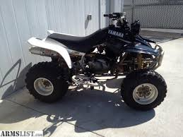 yamaha warrior 350 for sale. 2004 yamaha warrior 350 4 wheeler for sale. has a yoshimura pipe. new battery, clutch cable, breaks and front tires. runs great ready to ride. sale