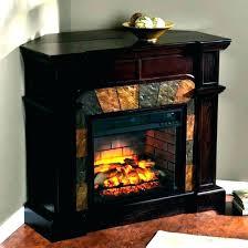 black electric fireplace tv stand corner s