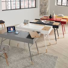 Aalto Two-tone Compartment Desk with Charging Station iNSPIRE Q Modern -  Free Shipping Today - Overstock.com - 20507098