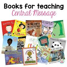 books for teaching central message