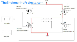 h bridge schematic diagram the wiring diagram h bridge inverter circuit diagram wiring diagram schematic