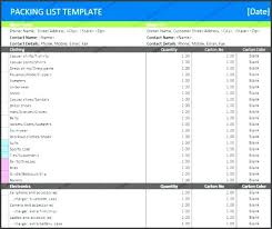 Word Templates Categories Home Moving Packing Checklist Template ...