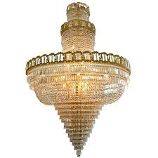 crystal chandeliers very large mid century gold plated crystal chandelier for crystal chandeliers