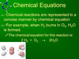 4 chemical equations