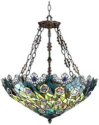 vintage stained glass hanging lamp antique chandelier lamps medium size of light fixtures old