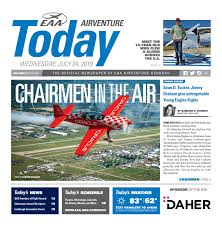 Eaa Airventure Today Wednesday July 24 2019 By Eaa