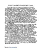 persuasive essay to persuasive essay shmoop
