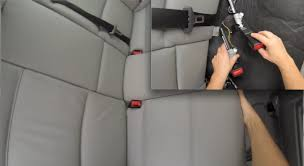 how to replace seat belts