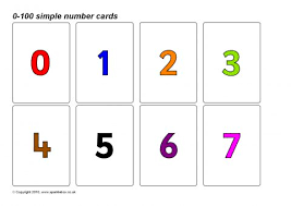 Number Flash Cards Primary Teaching Resources U0026 Printables Make Flashcards With Pictures