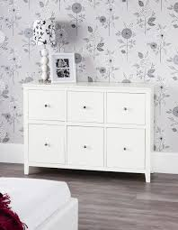 Large Bedroom Chest Of Drawers Brooklyn Ivory White Dresser Bedroom Furniture Direct