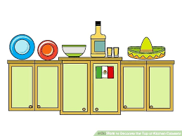 image titled decorate. Simple Titled Image Titled Decorate How To Decorate Top Of Kitchen Cabinets  The Step 2 Inside Image Titled Decorate
