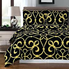 luxury cotton duvet covers modern medallion black gold cotton duvet cover set luxury duvet cover sets