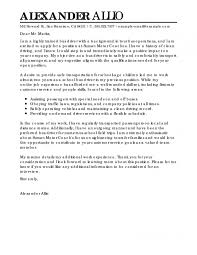 Livecareer San Francisco This Is The Best Bus Driver Cover Letter Examples Livecareer