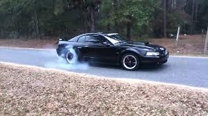2002 Mustang Gt burnout - YouTube