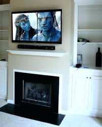 hanging tv above fireplace brilliant installing above fireplace install flat screen over gas fireplace fireplaces source