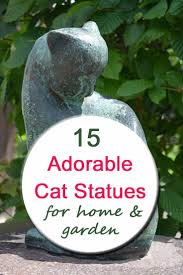 cat statues and figurines