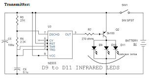 infrared remote control switch circuit working and its applications ir remote controls transmitter switch circuit