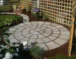 garden patio ideas uk narrow design picture