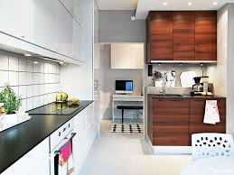 Cabinet And Lighting Minimalist Kitchen Design With White Gloss Cabinet And Black