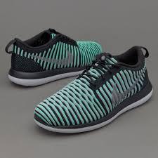 nike shoes for girls roshe. nike girls roshe two flyknit - green glow shoes for