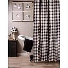 black shower curtains. Buffalo Check Black Shower Curtain Curtains