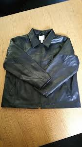 children s black faux leather jacket from next 128cm 7 8 years