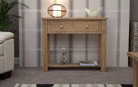 oak hall console table. Kingston Solid Oak Hallway Furniture Small Console Hall Table Ebay A