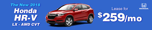 2018 honda lease deals. interesting deals 2018 honda hrv lx awd 259 per month auto lease intended honda lease deals s