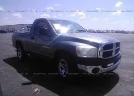 1D7HA16K87J560342, Clear gray Dodge Ram 1500 at LUBBOCK, TX ...