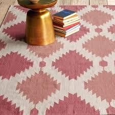 aztec print rug west elm phoenix wool on tribal print aztec print runner rug