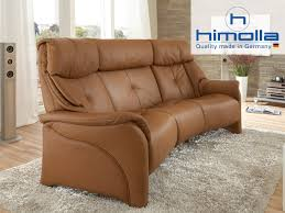 chester 3 seat high back static leather sofa