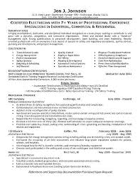 Sample Resume Format Awesome Electrical Supervisor Resume Supervisor Resume Example Electrical