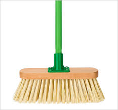 mops and brooms. 2607_Wooden Soft Brush Mops And Brooms N