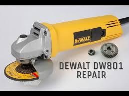 angle grinder repair dewalt dw801 repairing armature and gear set angle grinder repair dewalt dw801 repairing armature and gear set replacement