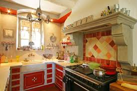 Delighful Red Country Kitchen Decorating Ideas Decor Marvelous In Yellow And For Design