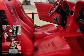 bux customs hot rod interiors wins best interior show class at northeast rod custom car