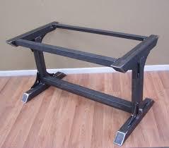 industrial steel furniture. industrial steel table base kitchen island bar by modernironworks furniture u