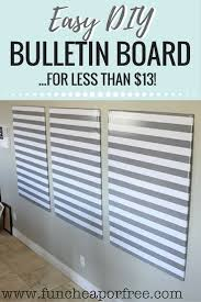 easy diy bulletin boards one of our best s for saving you time and money