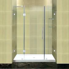 delta shower door installation pivoting shower door completely hinged shower door with glass shelves and low