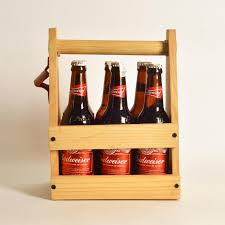 weekend essential wooden beer crate beer carrier