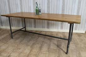 Gorgeous Industrial Dining Tables 50 Round Industrial Dining Table Industrial Look Dining Table