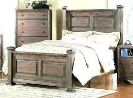 distressed white bed frame – ellen royce