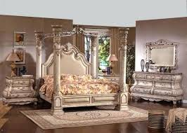 Off White Bedroom Furniture Decor Ideas For Queen Canopy Set ...