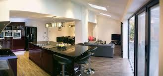 living room extension. tom west yorkshire living room extension