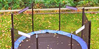 spring force trampoline. trampoline history \u2013 the safety enclosure and padding spring force