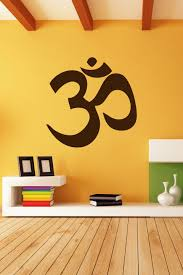 Most powerful transcendental hindu vedic chant for meditation, study, focus. Wall Decals Hindu Om Walltat Com Art Without Boundaries